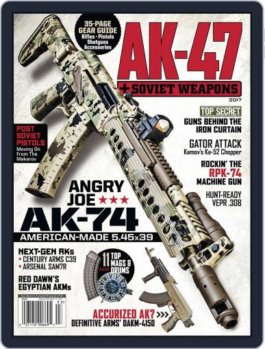 AK47 & Soviet Weapons March 1st, 2017 Digital Back Issue Cover