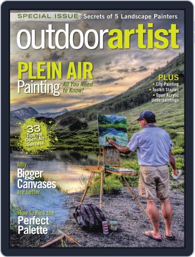 OUTDOOR ARTIST April 1st, 2017 Digital Back Issue Cover