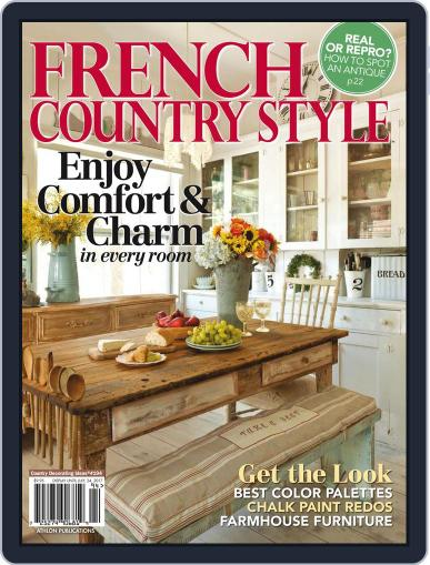 French Country Style July 24th, 2017 Digital Back Issue Cover