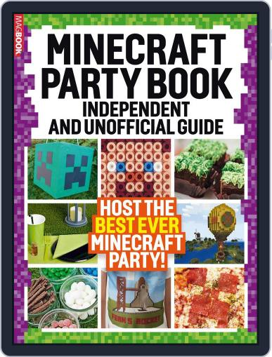Minecraft Party book April 1st, 2017 Digital Back Issue Cover