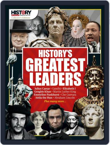 History's Greatest Leaders May 1st, 2017 Digital Back Issue Cover