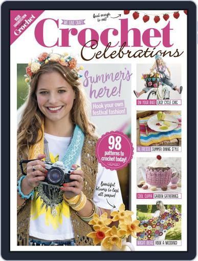 Crochet Celebrations May 1st, 2017 Digital Back Issue Cover
