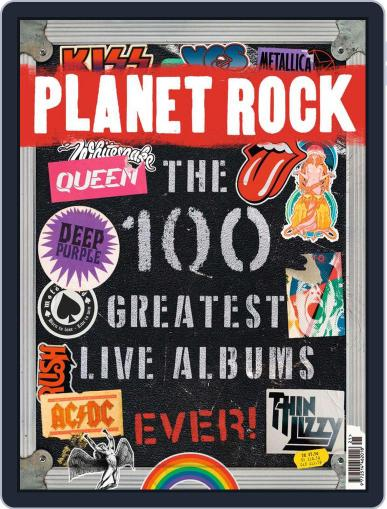 Planet Rock August 1st, 2020 Digital Back Issue Cover