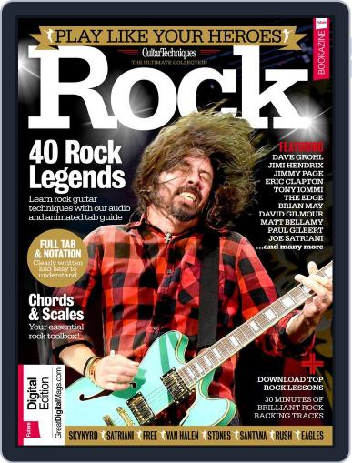 Play Like Your Heroes: Rock June 6th, 2017 Digital Back Issue Cover