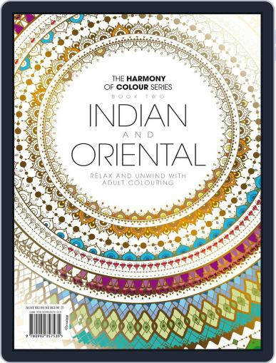 Colouring Book: Indian and Oriental June 1st, 2017 Digital Back Issue Cover