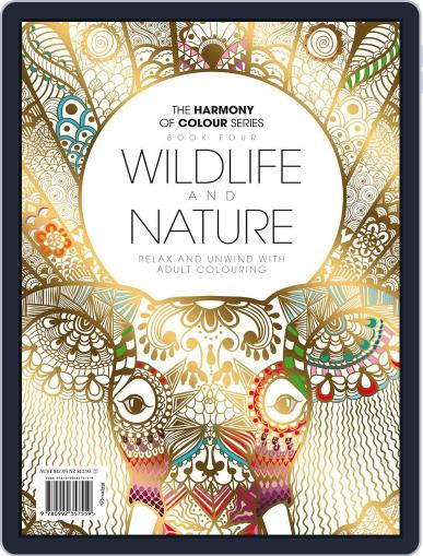 Colouring Book: Wildlife and Nature June 1st, 2017 Digital Back Issue Cover