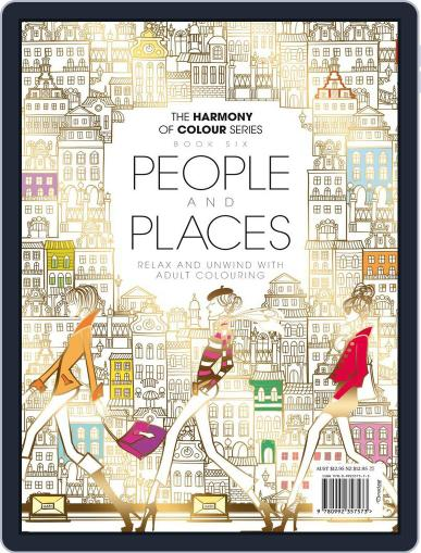 Colouring Book: People and Places June 1st, 2017 Digital Back Issue Cover