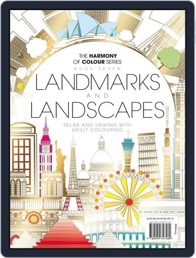Colouring Book: Landmarks and Landscapes June 1st, 2017 Digital Back Issue Cover