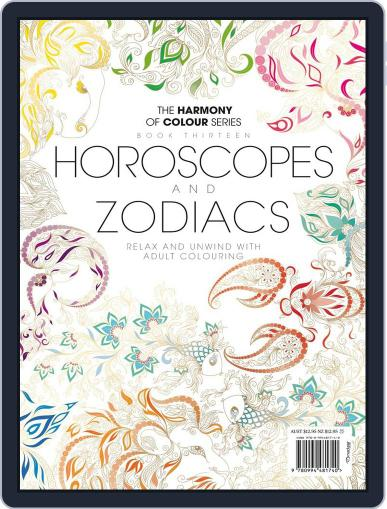 Colouring Book: Horoscopes and Zodiacs June 1st, 2017 Digital Back Issue Cover