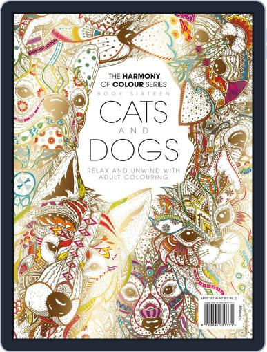 Colouring Book: Cats and Dogs June 1st, 2017 Digital Back Issue Cover