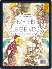 Colouring Book: Myths and Legends Magazine (Digital) Subscription June 1st, 2017 Issue