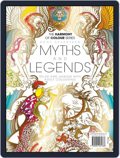 Colouring Book: Myths and Legends June 1st, 2017 Digital Back Issue Cover