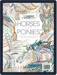 Colouring Book: Horses and Ponies Magazine (Digital) Subscription June 1st, 2017 Issue
