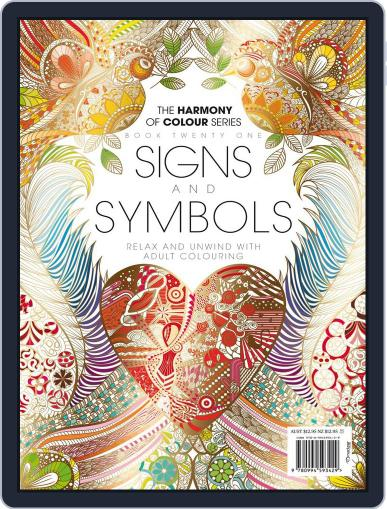 Colouring Book: Signs and Symbols June 1st, 2017 Digital Back Issue Cover