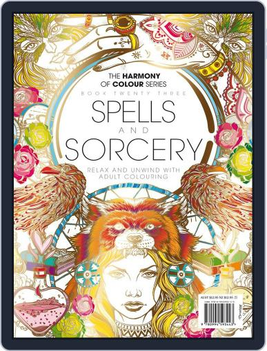 Colouring Book: Spells and Sorcery June 1st, 2017 Digital Back Issue Cover