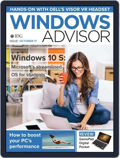 Windows Advisor October 1st, 2017 Digital Back Issue Cover