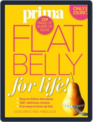 Prima Flat Belly for Life June 28th, 2017 Digital Back Issue Cover