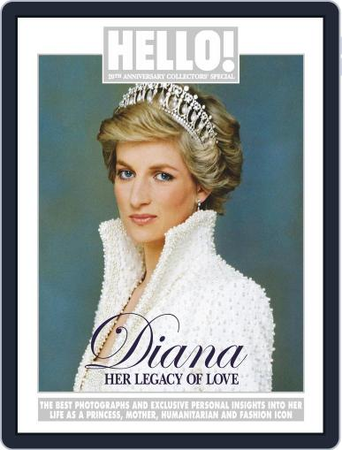 Diana - Her Legacy of Love June 20th, 2017 Digital Back Issue Cover