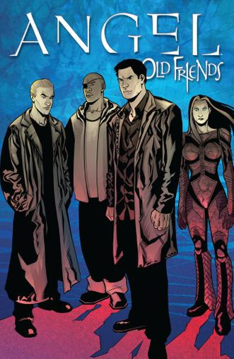 Angel: Old Friends March 1st, 2012 Digital Back Issue Cover