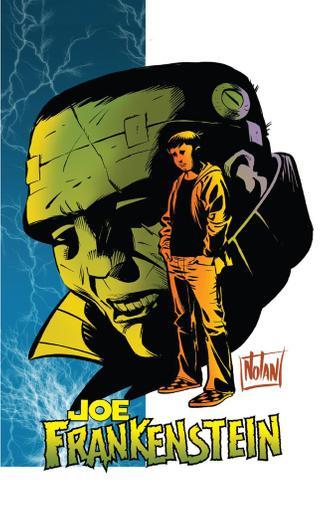 Joe Frankenstein September 1st, 2015 Digital Back Issue Cover