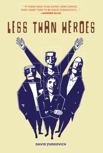 Less Than Heroes July 1st, 2012 Digital Back Issue Cover