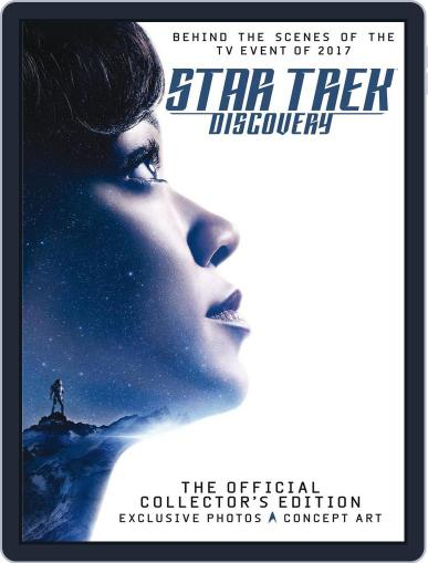 Star Trek: Discovery Special October 24th, 2017 Digital Back Issue Cover