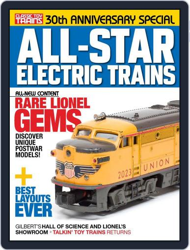 All-Star Electric Trains October 27th, 2017 Digital Back Issue Cover