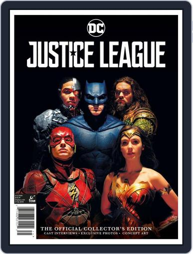 Justice League: The Official Collector's Edition November 7th, 2017 Digital Back Issue Cover