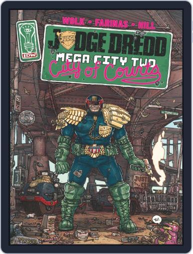 Judge Dredd: Mega-City Two October 1st, 2014 Digital Back Issue Cover