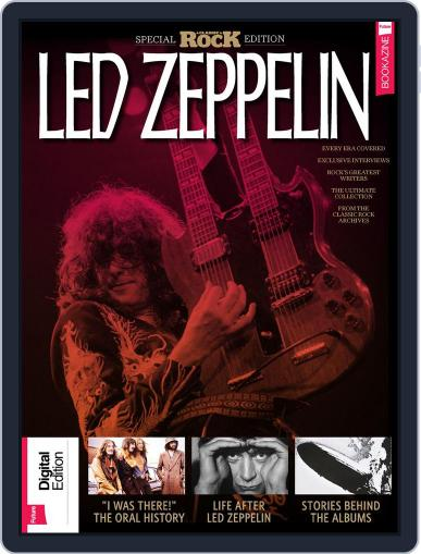 Classic Rock Special Edition: Led Zeppelin November 14th, 2017 Digital Back Issue Cover