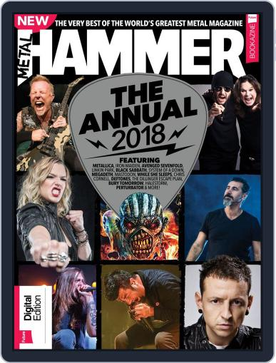 Metal Hammer Annual November 14th, 2017 Digital Back Issue Cover