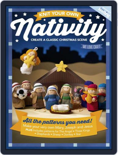 Knit your own Nativity December 13th, 2017 Digital Back Issue Cover