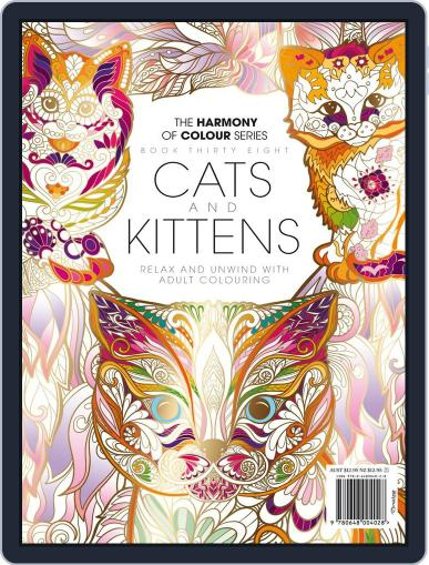 Colouring Book: Cats and Kittens December 13th, 2017 Digital Back Issue Cover