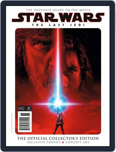 Star Wars: The Last Jedi - The Official Collector's Edition March 19th, 2018 Digital Back Issue Cover