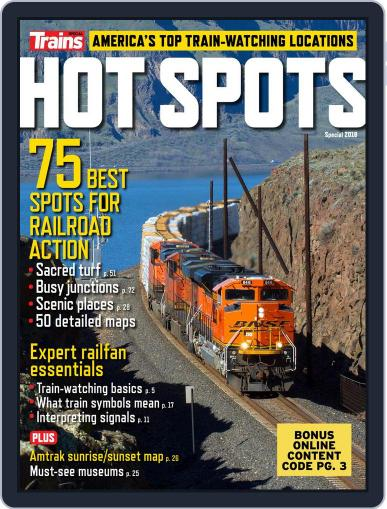 Hot Spots January 15th, 2018 Digital Back Issue Cover