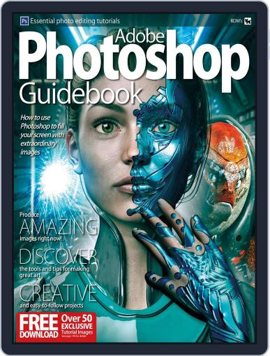 Adobe Photoshop Guidebook January 1st, 2018 Digital Back Issue Cover