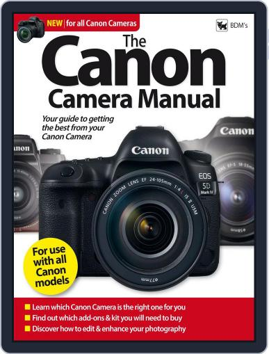 The Canon Camera Manual January 1st, 2018 Digital Back Issue Cover