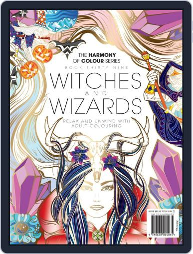 Colouring Book: Witches and Wizards January 25th, 2018 Digital Back Issue Cover