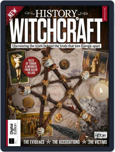 History of Witchcraft February 19th, 2018 Digital Back Issue Cover