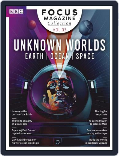 Unknown Worlds March 13th, 2018 Digital Back Issue Cover