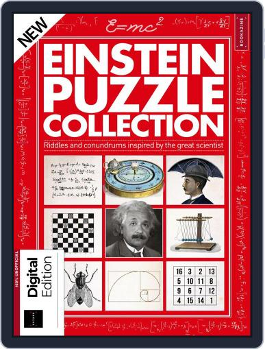 Einstein Puzzle Collection March 21st, 2018 Digital Back Issue Cover
