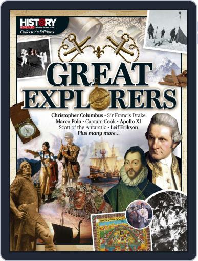 Great Explorers February 13th, 2020 Digital Back Issue Cover