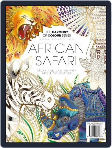 Colouring Book: African Safari April 17th, 2018 Digital Back Issue Cover