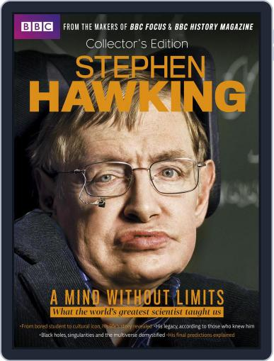 The life of Professor Steven Hawking May 2nd, 2018 Digital Back Issue Cover