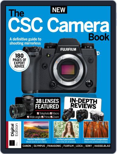The CSC Camera Book April 24th, 2018 Digital Back Issue Cover