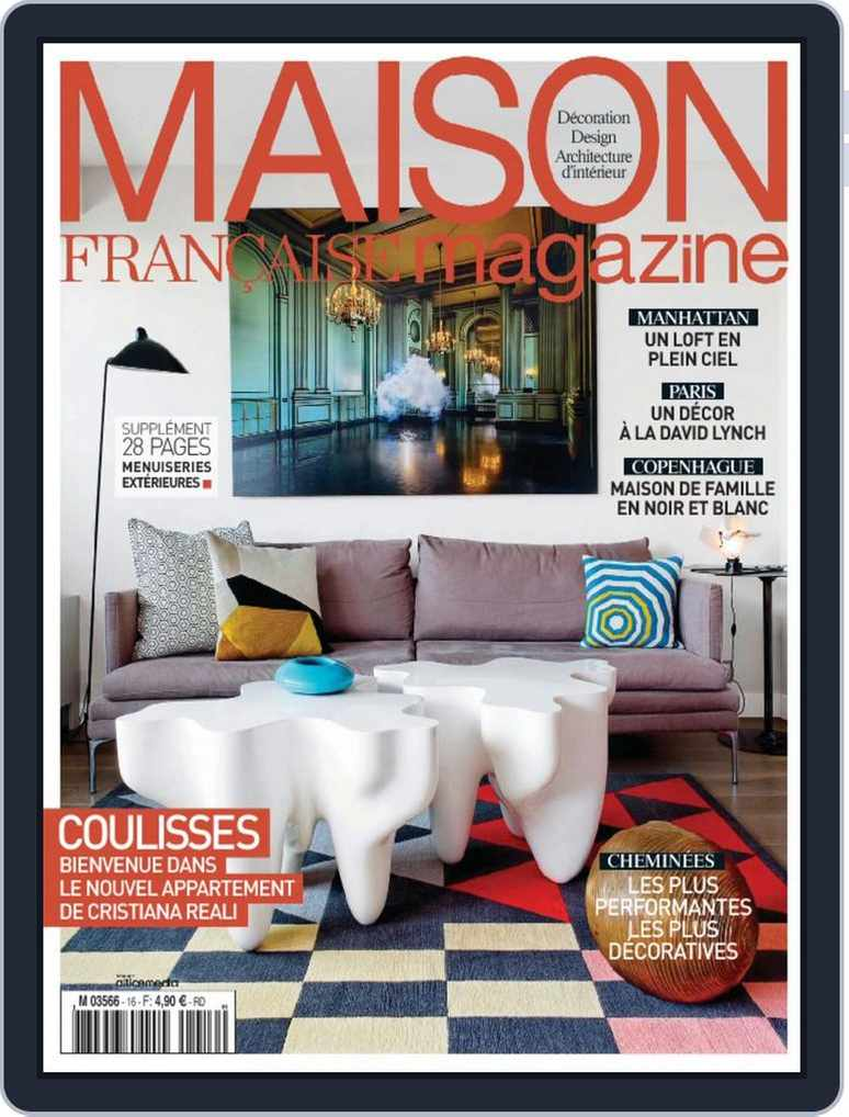Maison Francaise Magazine Digital Subscription Discount