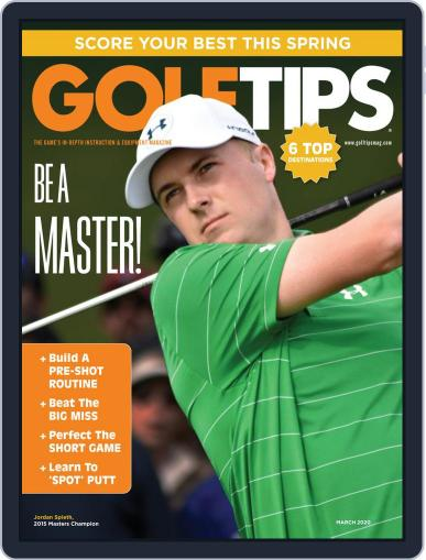 Golf Tips Digital Back Issue Cover