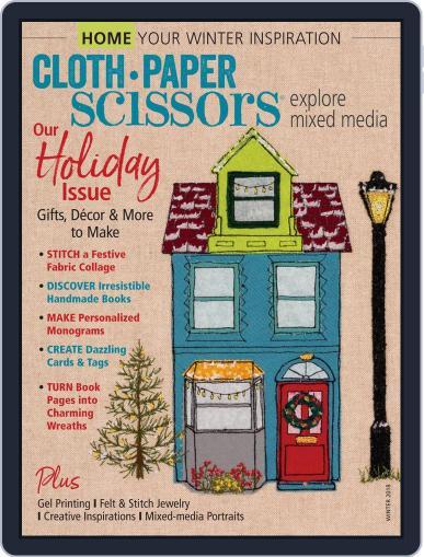 Cloth Paper Scissors Digital Back Issue Cover
