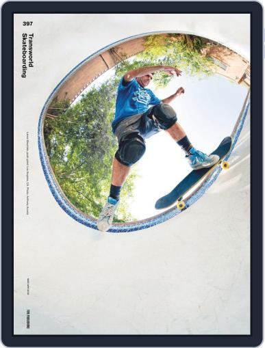 Transworld Skateboarding Digital Back Issue Cover