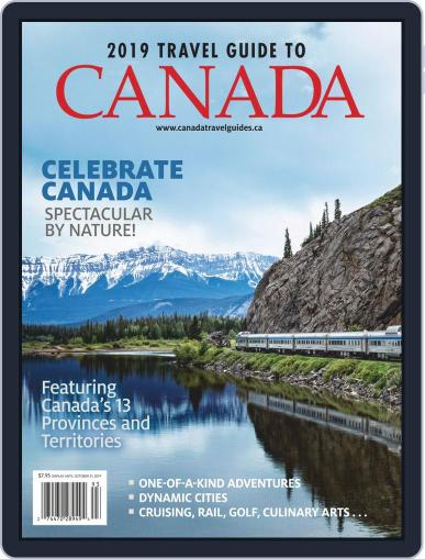 Travel Guide To Canada Digital Back Issue Cover